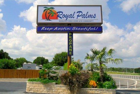 Royal Palms Entrance