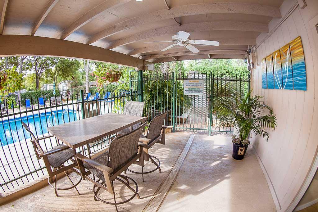 Terrace Pool Side